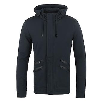 Antony Morato Deep Blue Zip Through Hooded Sweatshirt