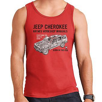 Haynes Besitzer Workshop manuelle Jeep Cherokee schwarz Herren Weste