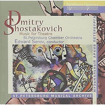 St. Petersborg Chamber Orchestra - Sjostakovitj: Musik til teater [CD] USA import