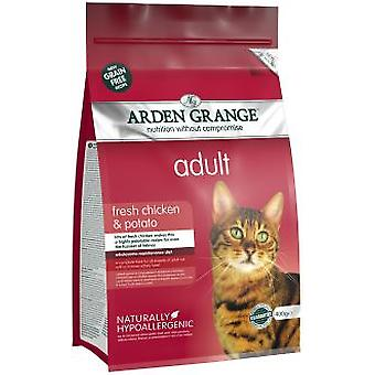Arden Grange Adult Cat Chicken and Potato (Cats , Cat Food , Dry Food)