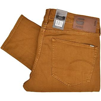 G-Star 3310 Slim Inza Stretch Cubano Tobacco Jeans