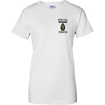Special-Forces - Luft Insignia Pop-Art - Damen Brust Design T-Shirt