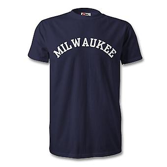 Milwaukee College Style T-Shirt