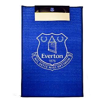 Everton FC Official Printed Football Crest Rug