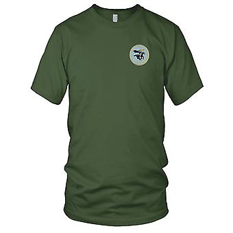 US Navy CVLG (N) 41 Night Fighter Group WWII geborduurd Patch - Mens T Shirt