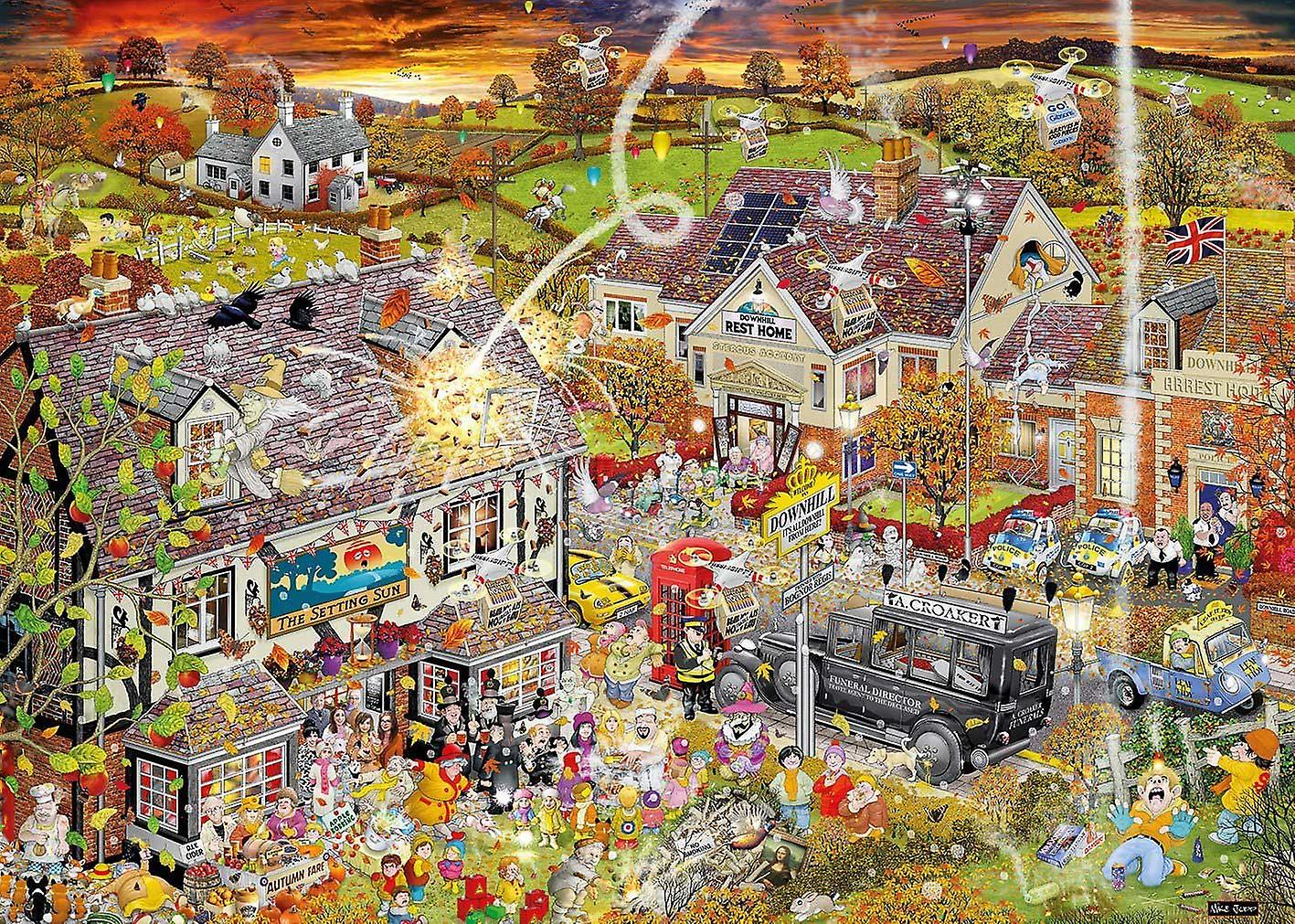Gibsons I Love Autumn Jigsaw Puzzle (1000 Pieces)