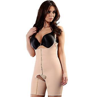 Esbelt ES422 kvinners naken firma/Medium kontroll slanking forme alt i ett legeme