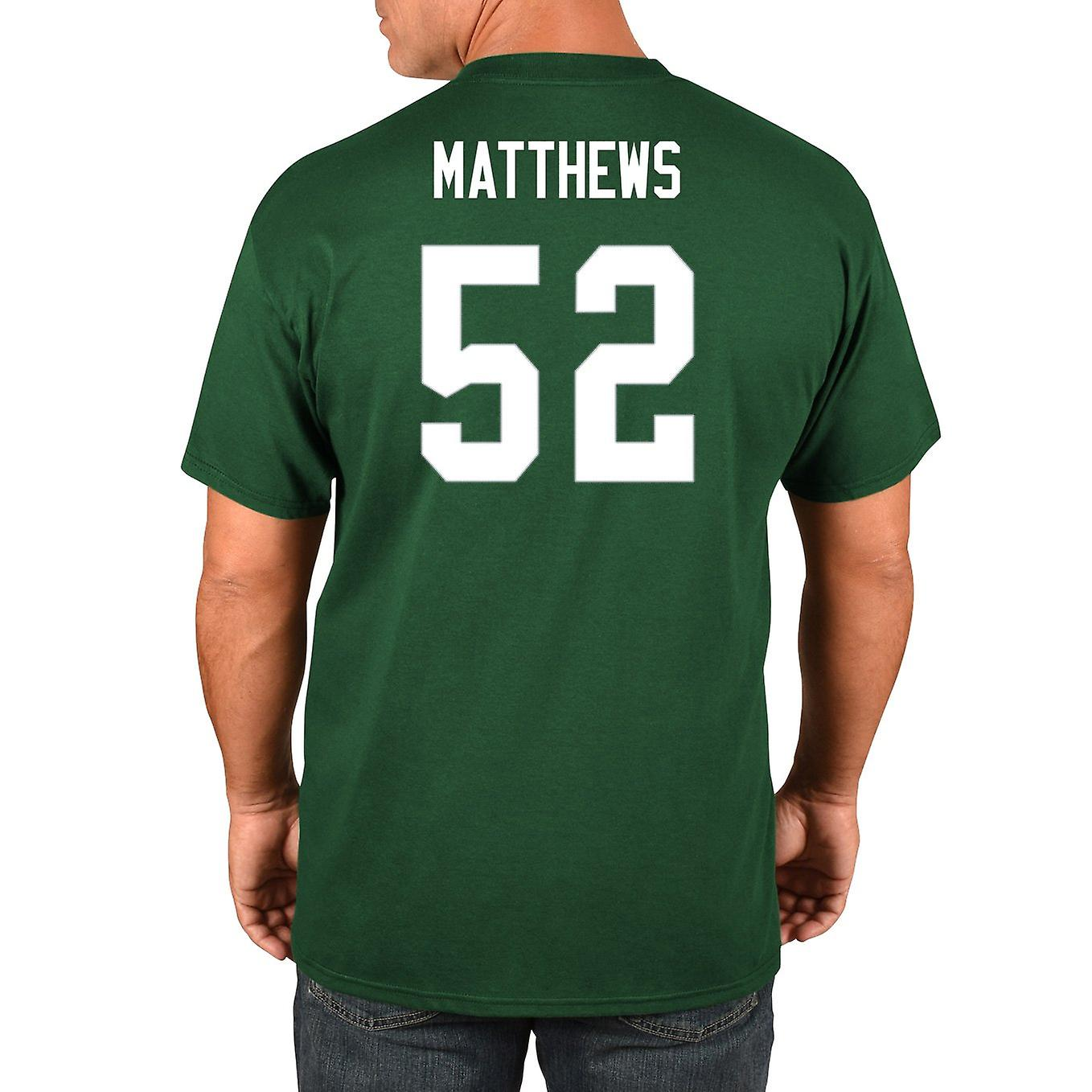 competitive price 78acc 13dc1 Majestic NFL shirt - Green Bay Packers clay Matthews #52