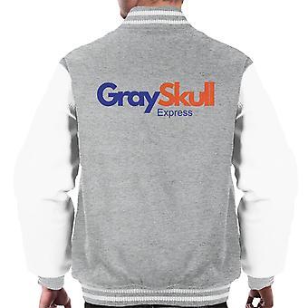 Fed Ex han mann Grayskull Express menn Varsity jakke