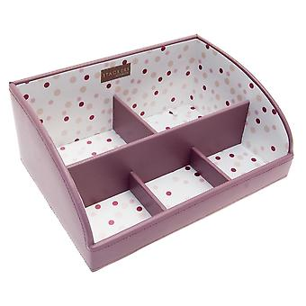 Medium High Sided Pink Stacker Jewellery Tray