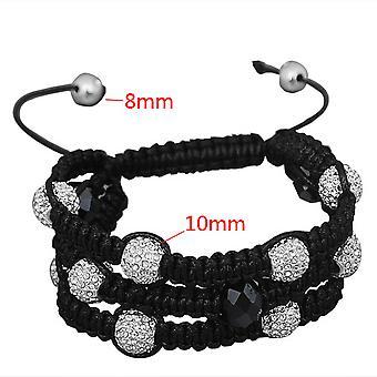 Unisex bling bracelet - SHAMBALLA 3 ROW
