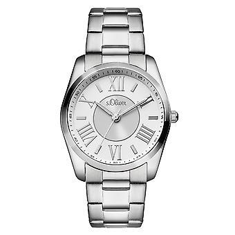 s.Oliver ladies wrist watch analog quartz SO-15116-MQR