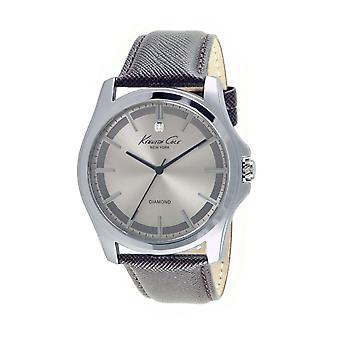 Kenneth Cole New York men's wrist watch analog quartz leather 10027417
