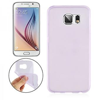Silikoncase of purple 0.3 mm ultra thin case for Samsung Galaxy S6 G920 G920F