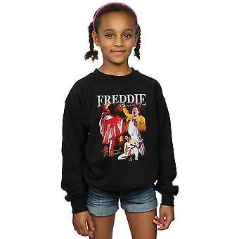 Koningin meisjes Freddie Mercury hommage Sweatshirt