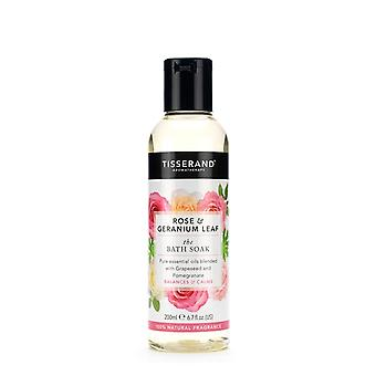 Tisserand Rose and Geranium Leaf The Bath Soak