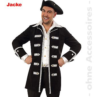 Traje do pirata casaco fantasia pirata masculina mens uniforme de Almirante