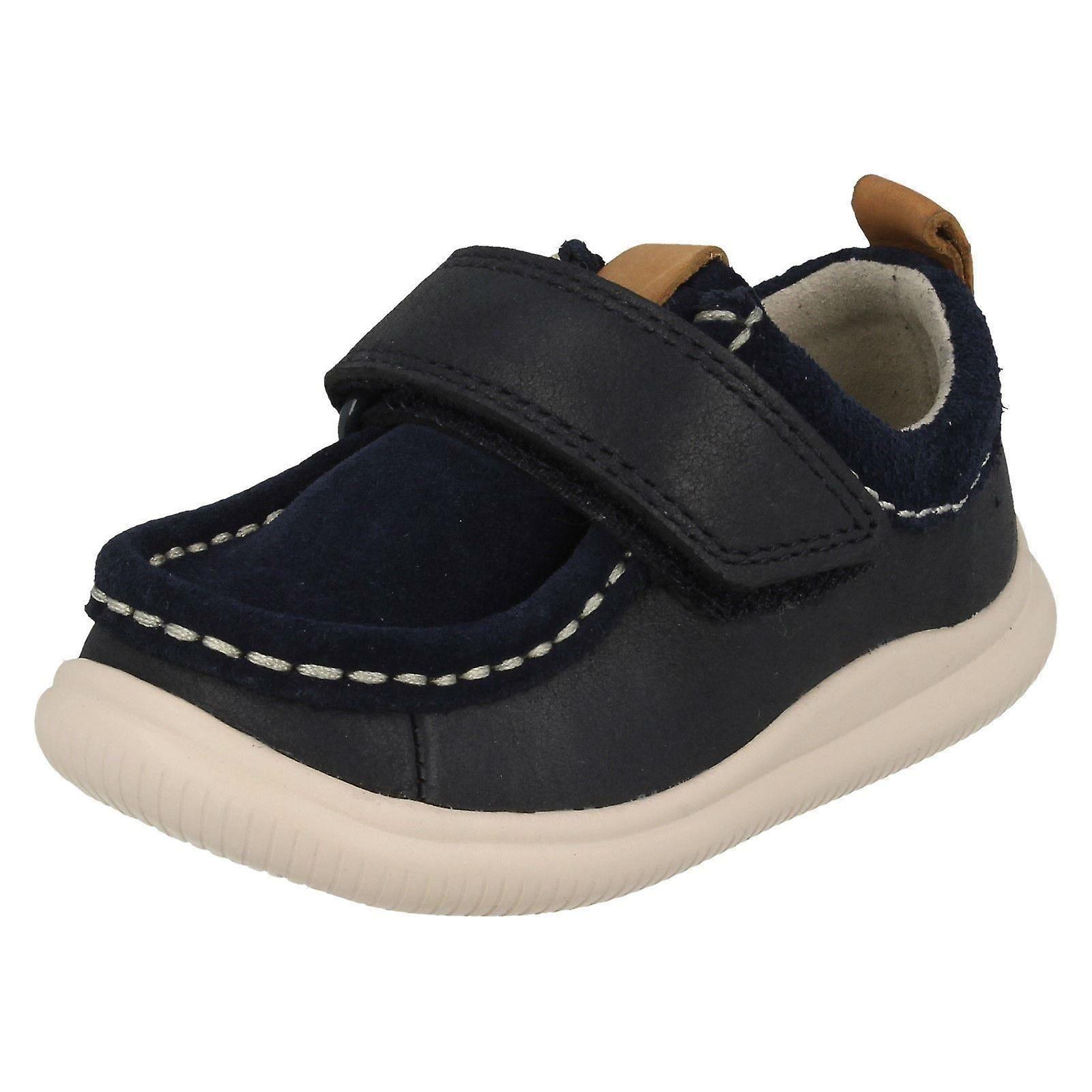 Boys Clarks Casual Shoes Cloud Cloud Cloud Sea 16ba0b