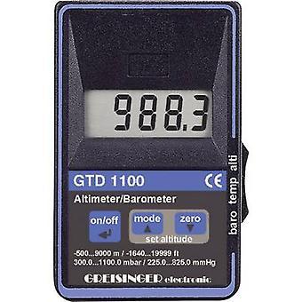 Greisinger GTD 1100 Digital Altimeter Barometer Thermometer