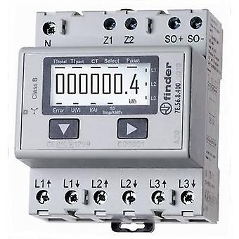 Finder 7E.56.8.400.0010 Electricity meter (3-phase) Digital 1500 A MID-approved: Yes