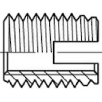 159827 Threaded inserts M3 6 mm 50 pc(s)