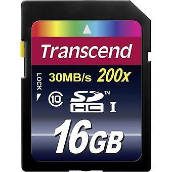 Transcend SDHC Premium card 16 GB classe 10