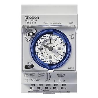 Theben 1810011 DIN rail mount timer