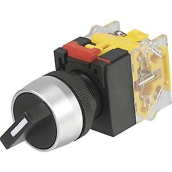 TRU COMPONENTS LAS0-A3Y-20X/31 Rotary switch 250 V AC 5 A Switch postions 3 2 x 45 ° IP40 1 pc(s)
