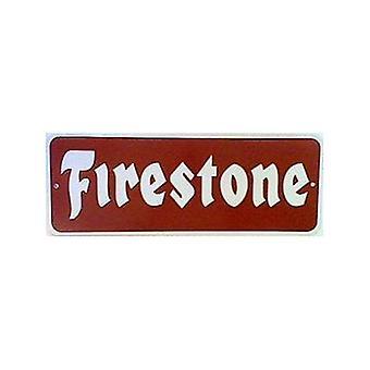 Firestone groot metalen bord