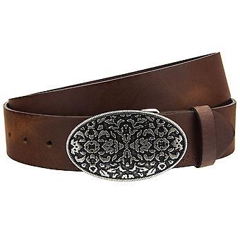 Tom tailor ladies leather coupling belt belt jeans belts TW1055L451-0646