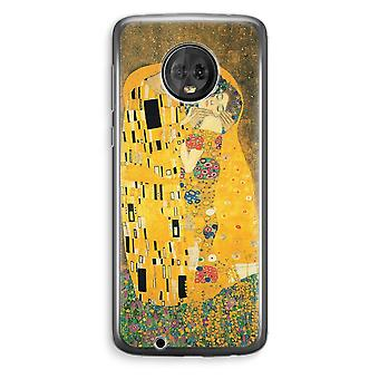 Motorola Moto G6 Plus Transparent Case (Soft) - Der Kuss