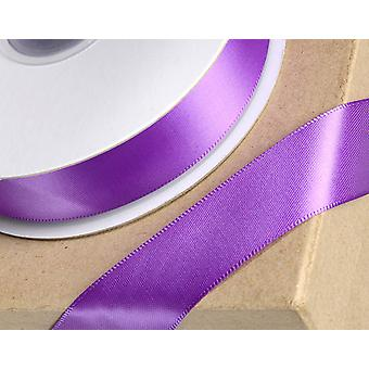 6mm Purple Satin Ribbon for Crafts - 25m | Ribbons & Bows for Crafts