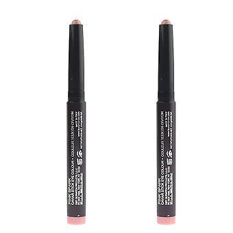 Laura Mercier chispa rosa Caviar Stick ojos color 0.05oz/1.64g nuevo Pack de 2