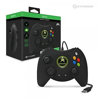 Hyperkin Duke Wired Controller for Xbox One/ Windows 10 PC (Black) Hyperkin