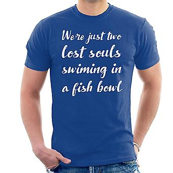 Pink Floyd Wish You Were Here Lyrics Men's T-Shirt