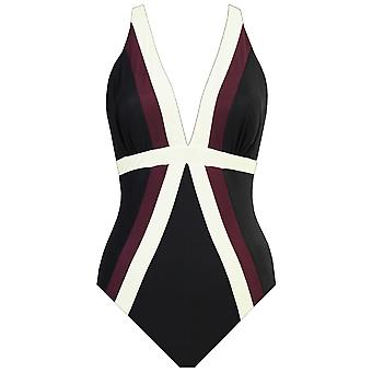 Miraclesuit 6516652 Women's Spectra Trilogy Black Shaping Swimsuit