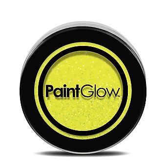 UV Glitter Shaker Sherbet Lemon