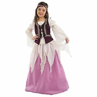 Medieval girl Julia Child costume maiden famous dress
