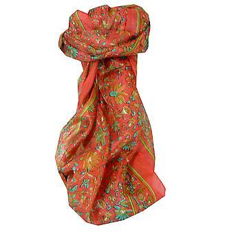 Шелковица шелка традиционный длинный шарф Ваг румянец, пашмины & шелка