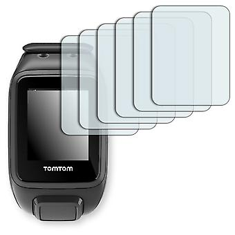 TomTom runner 2 music display protector - Golebo crystal clear protection film