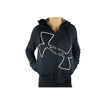 Under Armour Big Logo Fullzip Hoodie 1320609-001 Womens sweatshirt