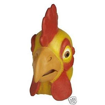 Chicken Mask. Rubber Overhead.