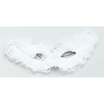 Venetian Carnival Mask. White.