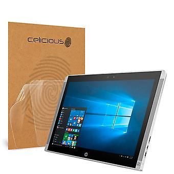 Celicious Vivid Invisible Glossy HD Screen Protector Film Compatible with HP Pavilion 10 x2 [Pack of 2]