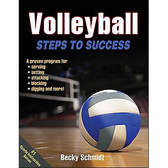 Volleyball - Steps to Success by Becky Schmidt - 9781450468824 Book