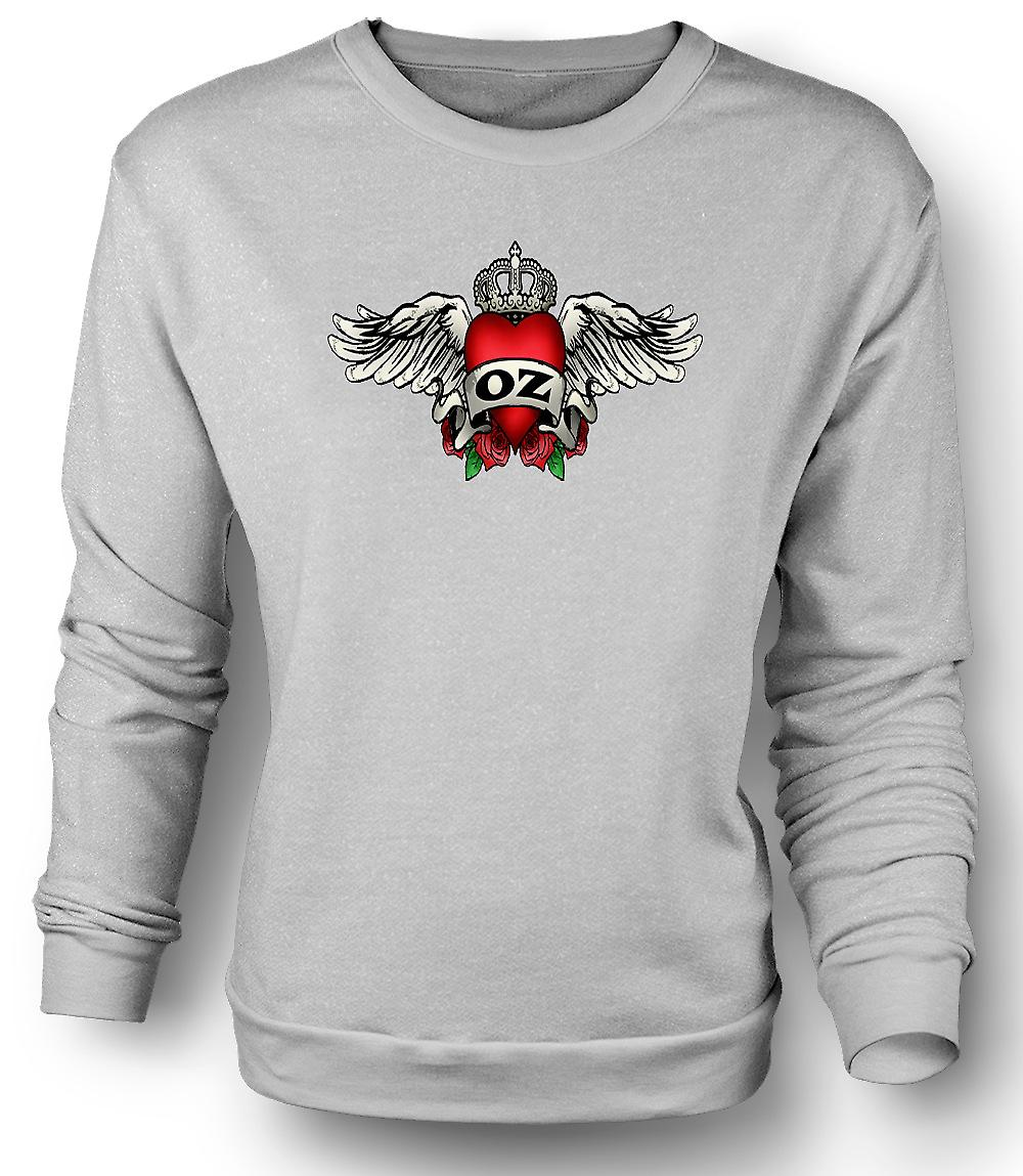 Mens Sweatshirt magicien d'Oz Flying Monkeys - Funny