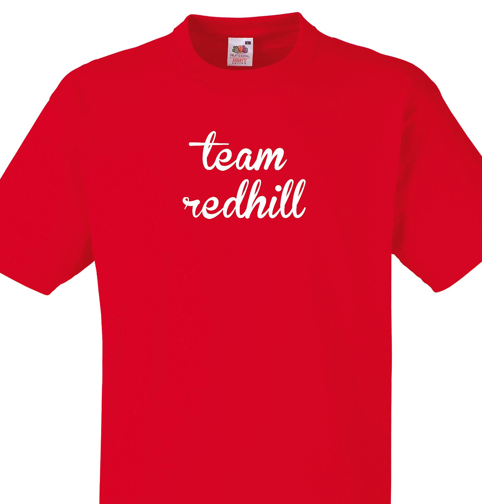 Team Redhill Red T shirt