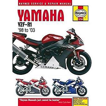 Yamaha YZF-R1 motorfiets reparatie handleiding