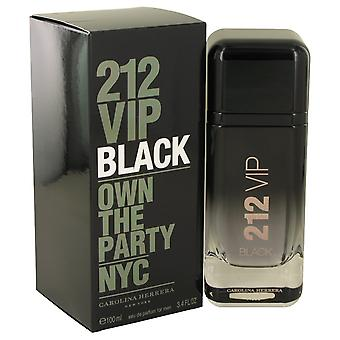 212 VIP Black by Carolina Herrera Eau De Parfum Spray 3.4 oz / 100 ml (Men)