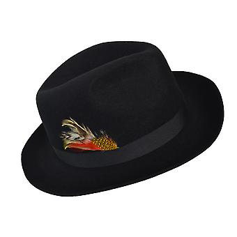 Gladwin Bond Black Fedora XL